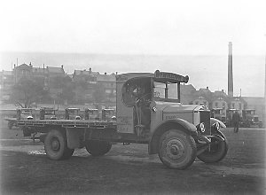 A study of one of the Albion trucks of William McKeown Ltd.