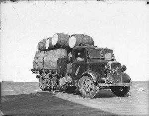 Penfold's Wines trucks