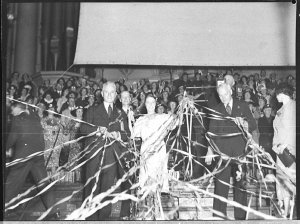 Farewell to Bobby and Betty (Mr and Mrs F Hatherlie), Town Hall, Sydney
