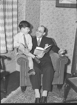 George Gee and son (taken for J.C. Williamson)