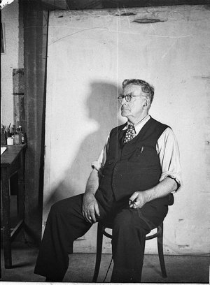 Self-portrait of S.J. Hood