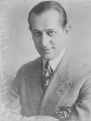 American Ted Henkel, Musical Director of Capitol Theatre, Sydney - portrait
