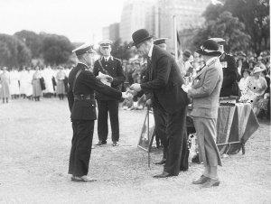 Award to a junior officer