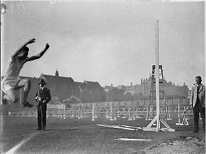 Unidentified long-jumper