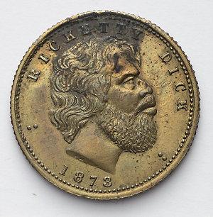 Item 0021: Ricketty Dick [bronze medal], 1873