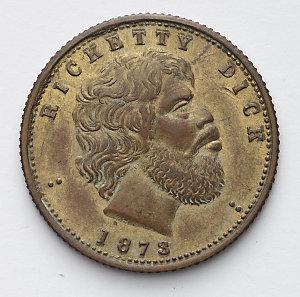 Item 0020: Ricketty Dick [bronze medal], 1873