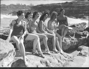 The Women Co girls on beach