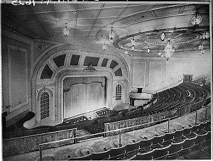 Auditorium and proscenium of Empire Theatre, Quay Street, Sydney