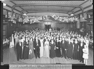 Metropolitan Business College dance at Canterbury Town Hall