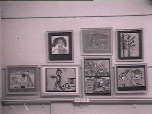 Exhibition of artwork by British children