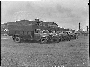 New Army trucks