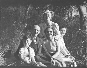 Actor; George Gee and family