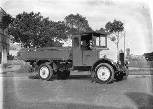 J Liggin's Albion truck