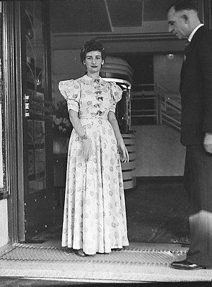 Usherettes in uniform at Century