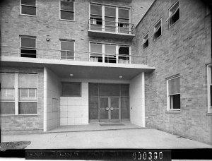 Ground floor detail, Yaralla Hospital (taken for Building Publishing Co)