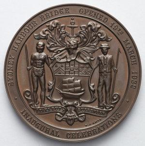 Item 0548: Medal commemorating the Sydney Harbour Bridge Opening, 1932