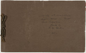 With the 10th Australian Light Horse in Egypt and Palestine, photos by R. V. Fell, vol. 1