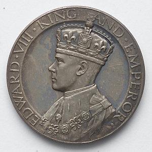 Item 1269: Coronation Medal, Edward VIII, 1937