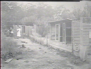 Fowl houses, Lloyds Poultry Farm, Pennant Hills