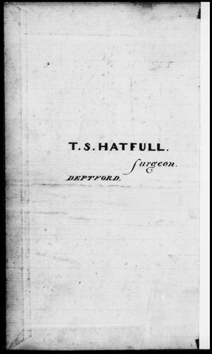 T. S. Hatfull 'The journal of a voyage taken in the Cornwall East-Indiaman, Capt. John Cow, to Sidney, New South Wales, Norfolk Island, Madras, the Island of Ceylon, Bombay and the Isles of France and St Helena, A.D. 1839 & 40'