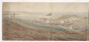 [Panorama of Newcastle : watercolour drawings attributed to Edward Close]