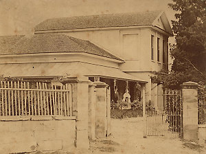 Cumberland Place [residence of Dr James Mitchell]