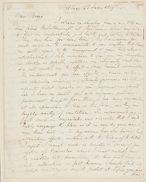 Volume 46 pages 259-264: Letter from James Atkinson to Alexander Berry, 4 June 1829