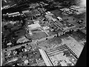 Aerial photograph of the Rydalmere area