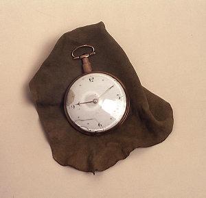 Item 01: Watch presented to Anna Elizabeth Walker (nee Blaxland) by her mother, Mrs John Blaxland, in 1823, dated ca 1800