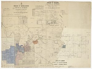 Hunter River district (compiled from parish maps) [cartographic material] / New South Wales Dept. of Lands.