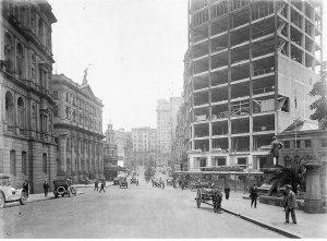 Bridge Street; (Lands Department, Royal Exchange, Burns Philp, Bank of NSW)