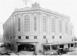 Construction of Empire Theatre, Quay Street