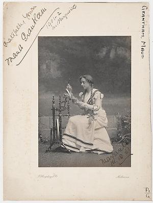 Maud Grantham, soprano, as Marguerite, 1901-1902 / T. Humphrey & Co., Melbourne