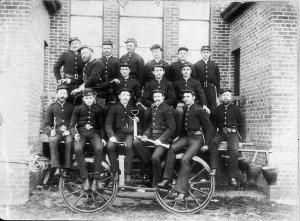 First fire brigade in Glen Innes - Glen Innes, NSW