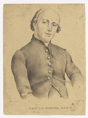 Revd. J.C. Sumner. O.S.B. / Charles Rodius