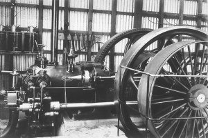 Engine, first town electricity supply - Cobar, NSW