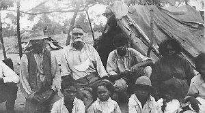 Aboriginal camp - Collarenebri, NSW