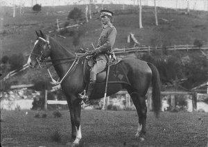 Australia Light Horse soldier - Bega, NSW