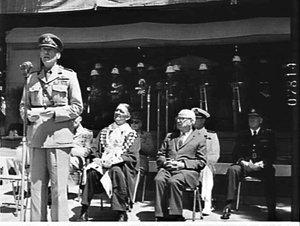 Australia Day ceremony, 1960, Hyde Park