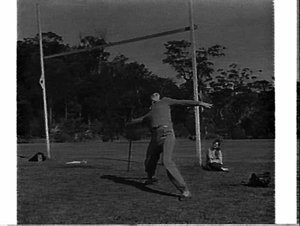 Athletics training, National Fitness Camp, Narrabeen