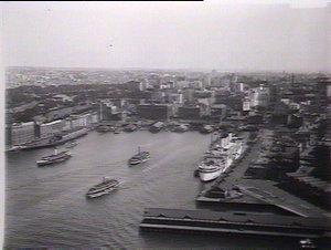 Circular Quay from Sydney Harbour Bridge