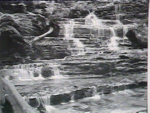 Britannia Falls, Valley of the Waters, Wentworth Falls