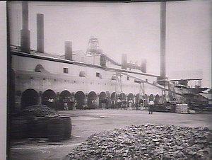 Broken Hill Silver mines