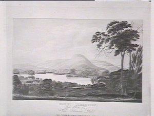 Mount Direction near Hobart Town Van Diemens Land, Nov. 1st 1824