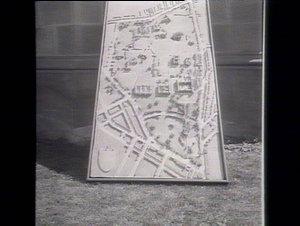 Model of University grounds & buildings