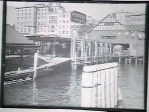 Ferry terminal construction, Circular Quay