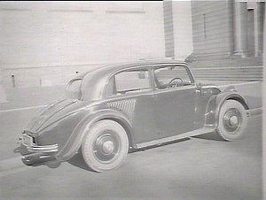 Road transport, car - rear-engined Mercedes Benz