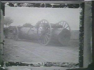 Grey box log on jinker, South Coast district