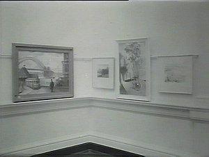 Art Gallery Roland Wakelin exhibit