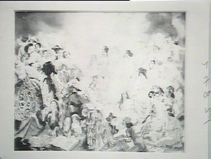 Court by Norman Lindsay